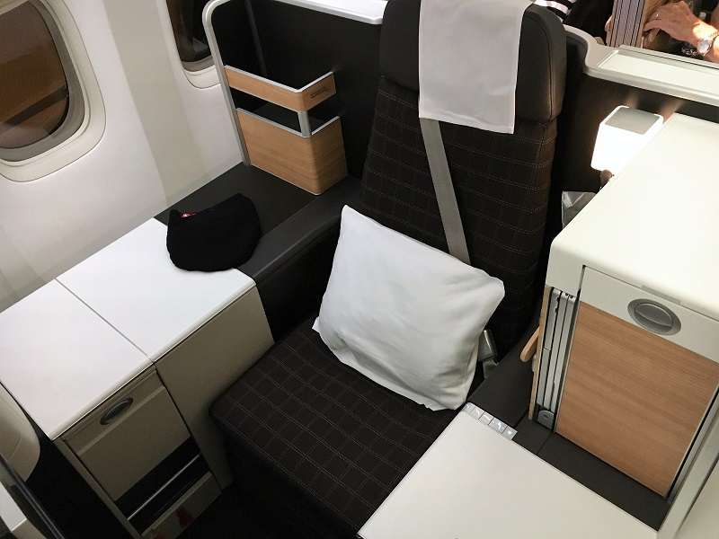 Business Class Seat SWISS