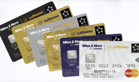 Kreditkarten für Vielflieger