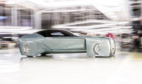 Luxusautos der Zukunft