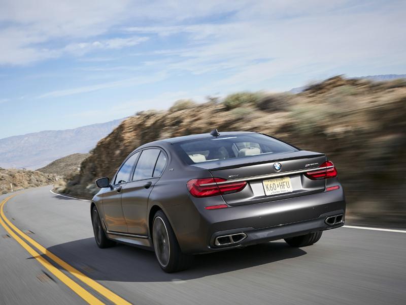 BMW M760Li Fahrtest