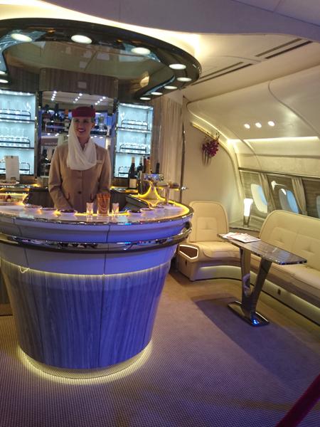 Emirates On Board Lounge A380 A380-Bord-Lounge