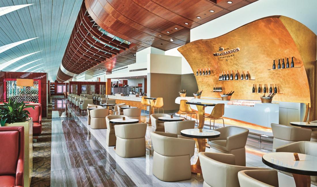 Emirates Lounges Dubai Zugang gegen Aufpreis