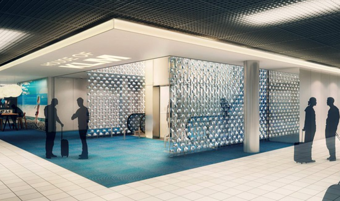 KLM Business Lounge in Amsterdam