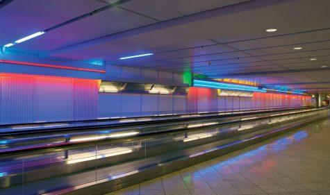 Keith Sonnier Münchner Flughafen