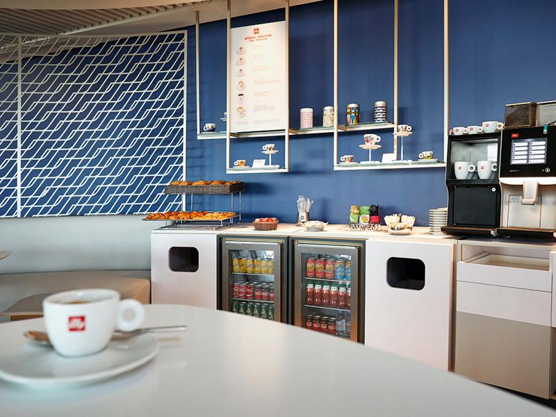 Neue Air France Business Lounge in Paris Charles de Gaulle