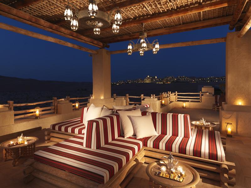 Wüstenresort in Abu Dhabi
