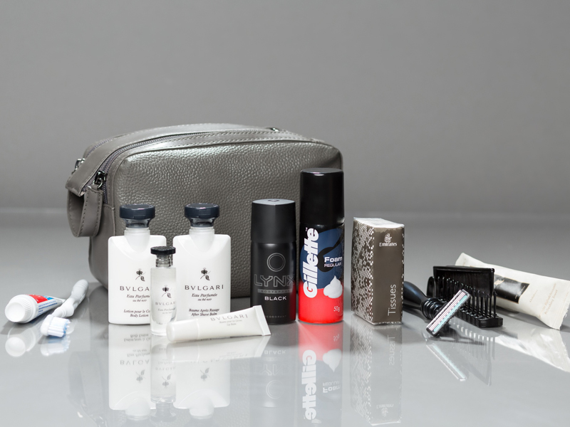 Amenity Kits First Class Emirates