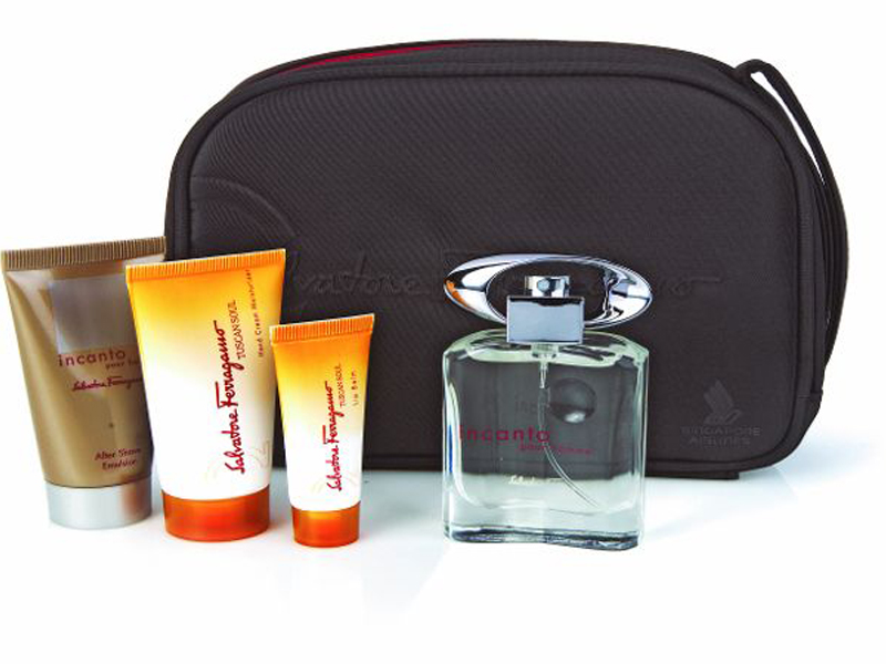 Amenity Kits Singapore Airlines