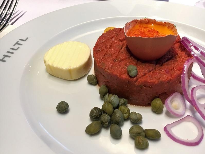 Nicht verpassen: Vegetarisches Tartar im Hiltl