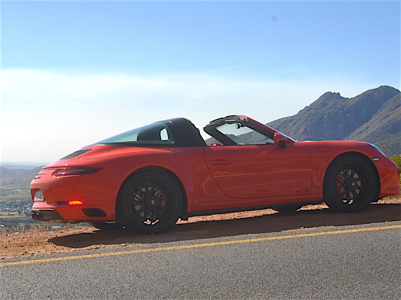 Porsche 911 GTS Fahrtest