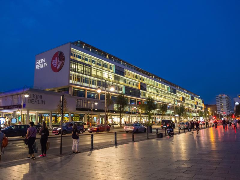 Shopping in Beriln Galeries Lafayette