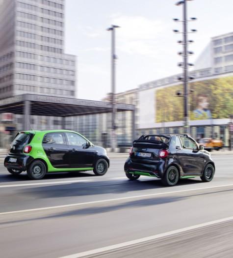 Smart Forfour ED Fahrtest