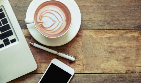 Kaffee am Arbeitsplatz