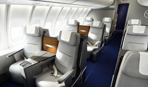 Lufthansa Business Class Boeing 747-8