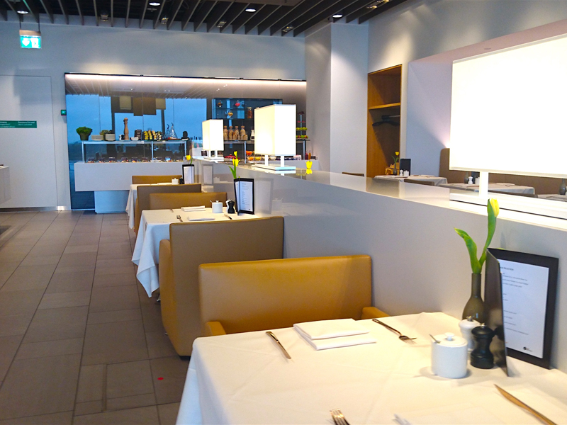 Lufthansa First Class Lounge im Satellitenterminal