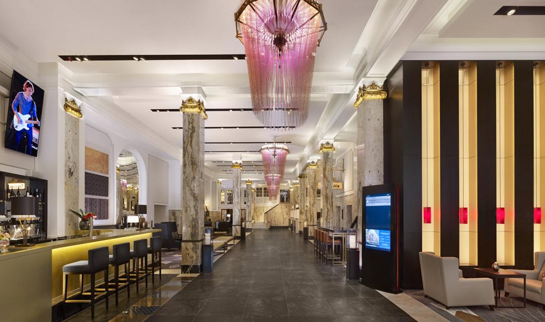 die coolsten hotel Lobbys
