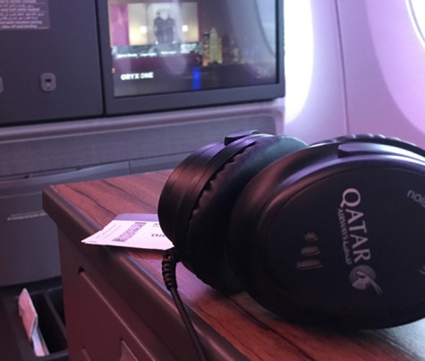Qatar Airways Business Class A350-900