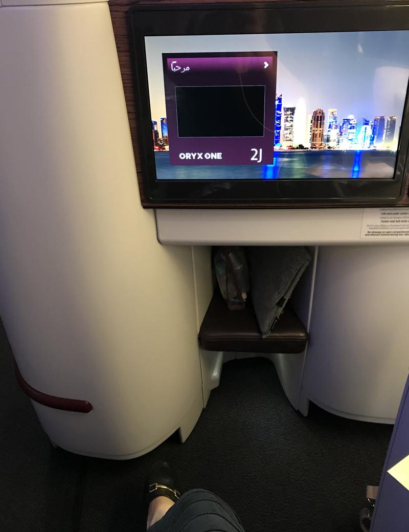 Erstflug Qatar Airways Doha Chiang Mai Business Class A320