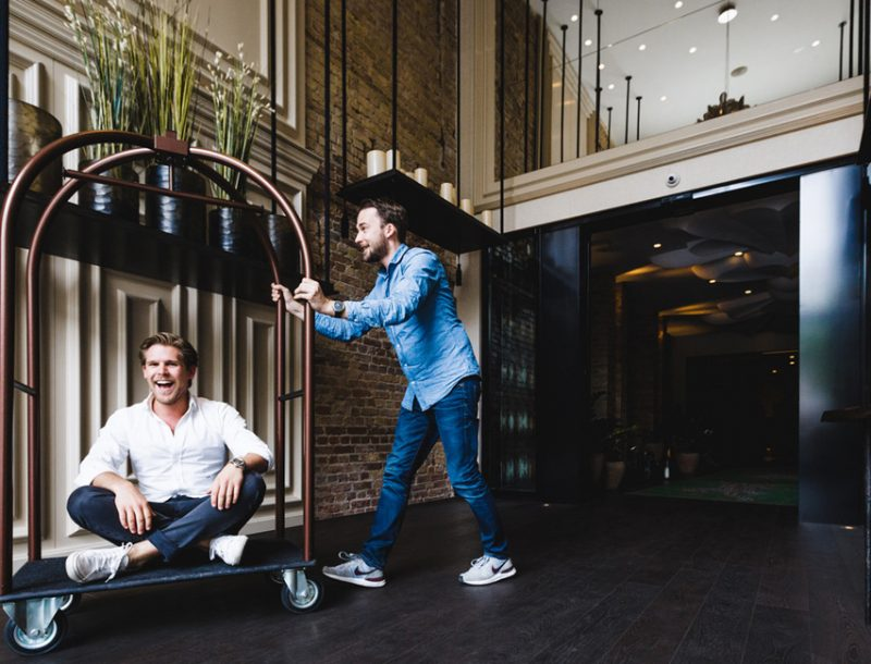 Conichi App Gründer Maximilian Waldmann und Frederic Haitz