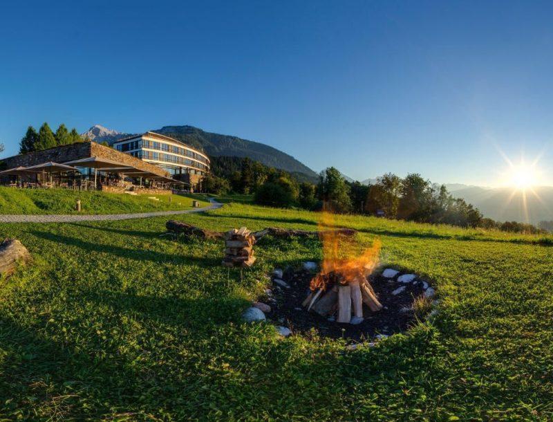 Kempinski Hotel Berchtesgaden: herrliche Aussicht