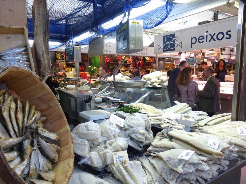 Girona: Fischmarkt
