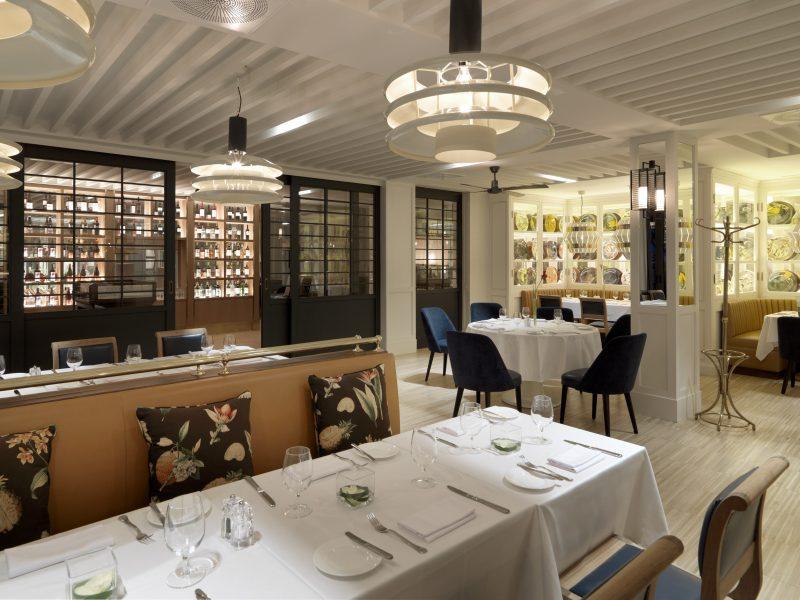 Girona: Restaurant im Hote Camiral