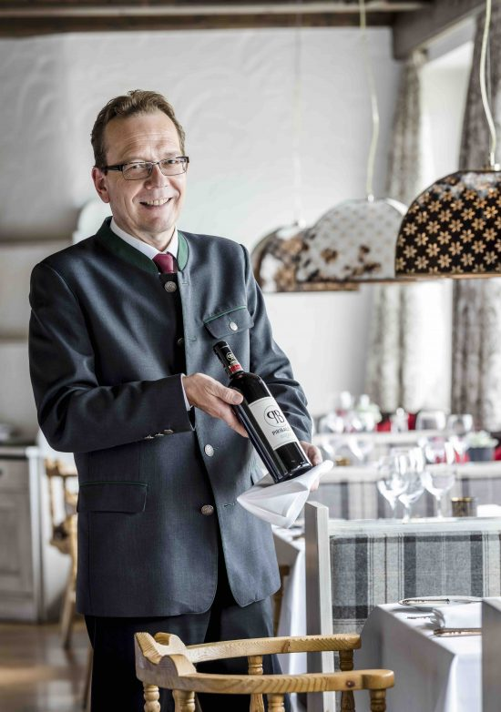 Hotel Der Bär: Sommelier Robert Lechner