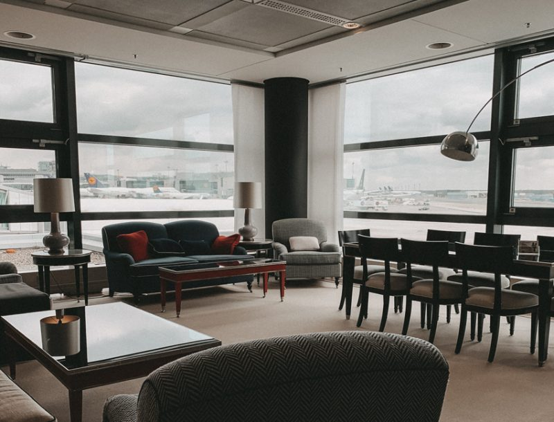 Lufthansa Panorama Lounge Frankfurt