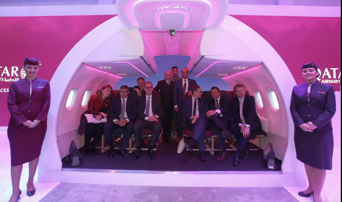 Neue Qatar Airways Economy Clasws