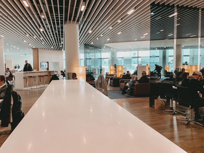Lufthansa Senator Lounge Terminal 1 A Frankfurt am Main