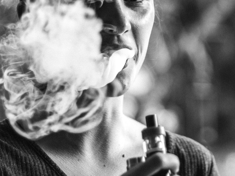 E Zigarette auf Reisen