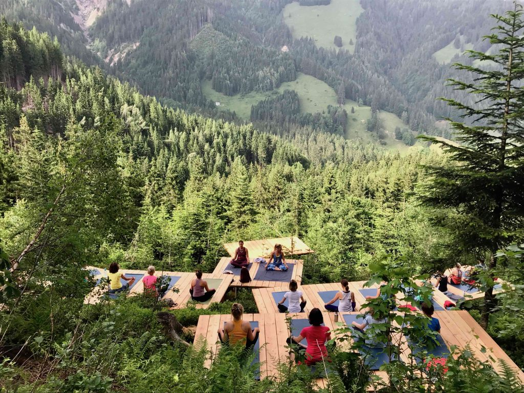 The Frequent Traveller: Yoga mit Ausblick