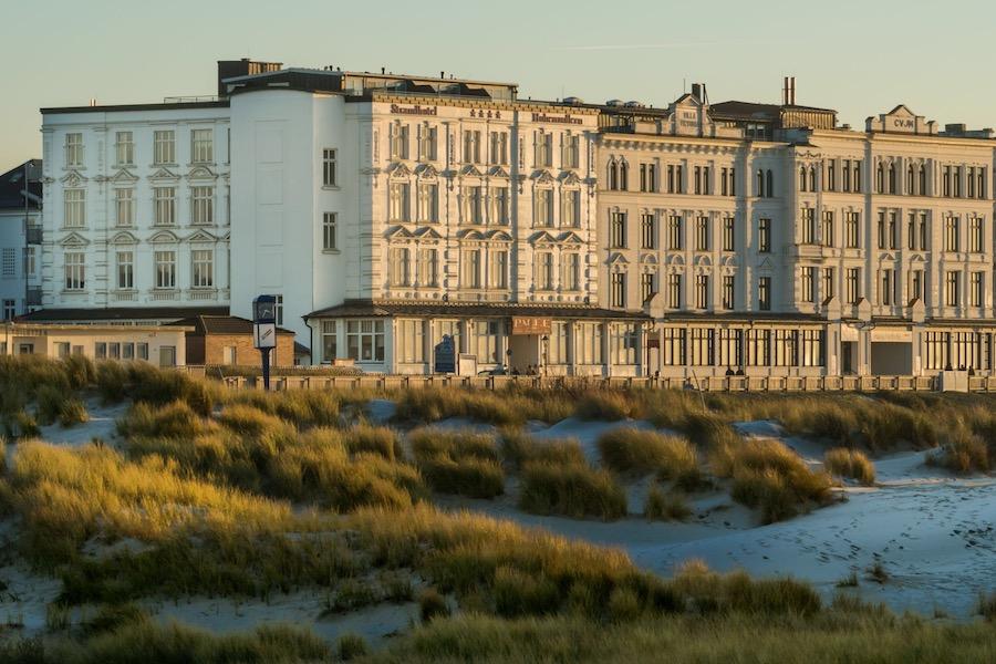 Urlaub in Deutschland Strandhotel Hohenzollern
