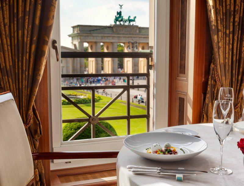 The Frequent Traveller: Dinieren mit Blick auf das Brandenburger Tor