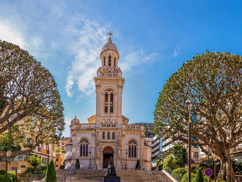 Monaco-Monte Carlo-Kirche Saint-Charles
