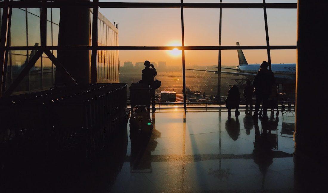 Wartezeiten am Flughafen