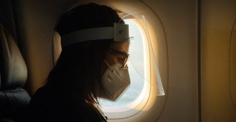 reisen mit maske