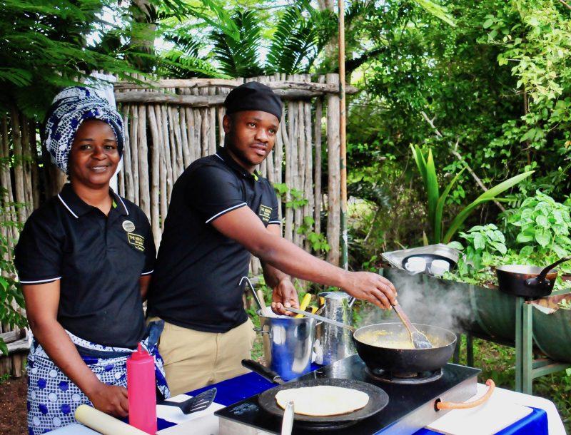 The Residence Zanzibar: Kochen im Kräutergarten