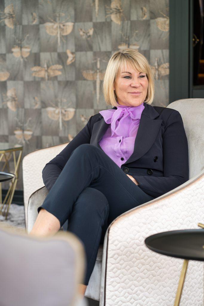 Katja Newman:Geschäftsführerin im Adler